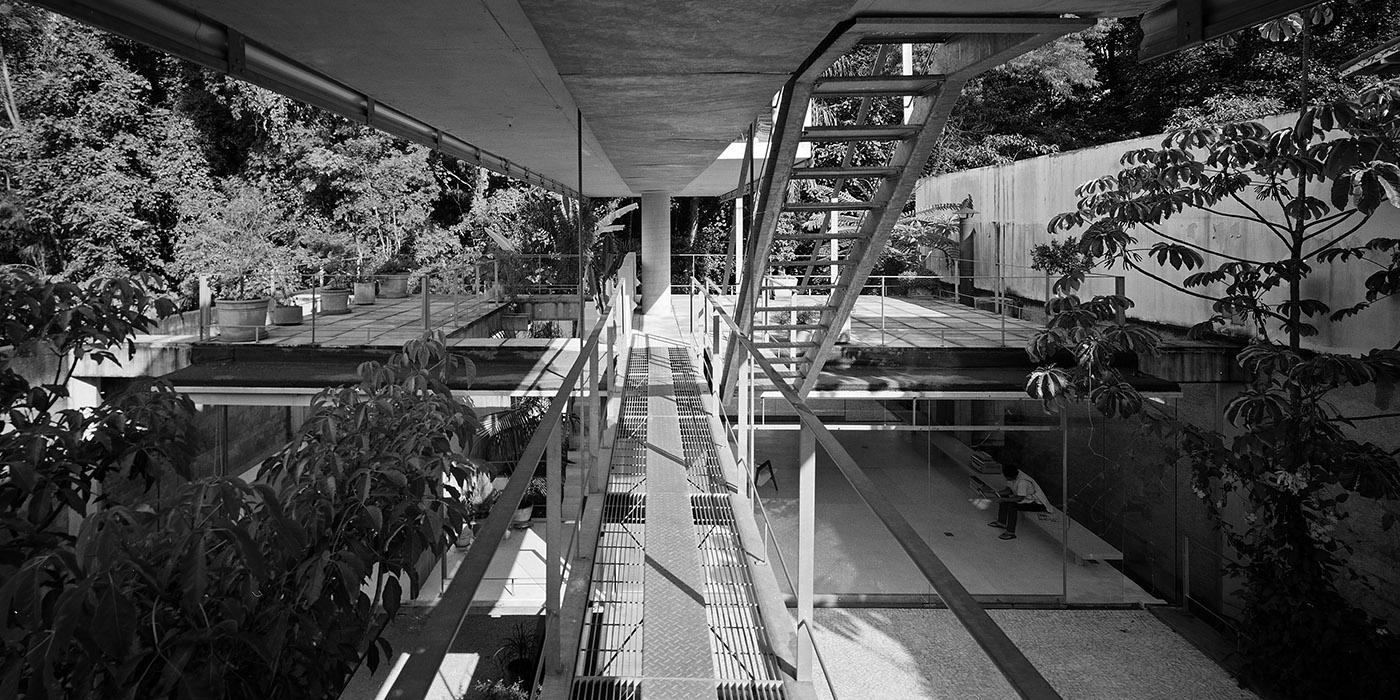 House in s o paolo erieta attali - The narrow house of sao paolo ...